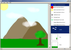 Painting program in Java